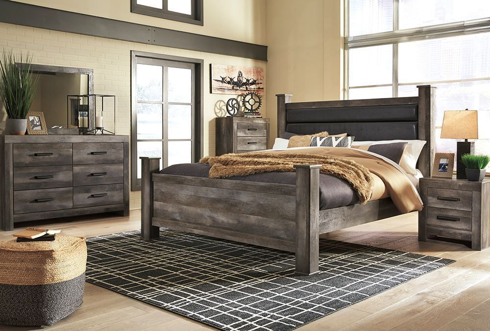 Wynnlow King Poster Bedroom Set Bedroom furniture sets