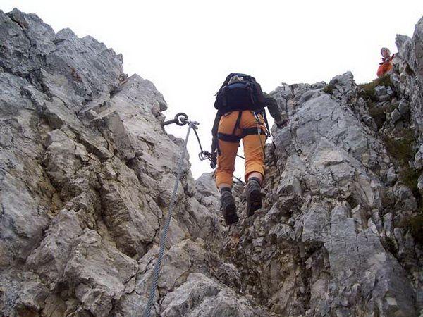 Klettersteig Tessin : Klettersteig beschreibung friedberger