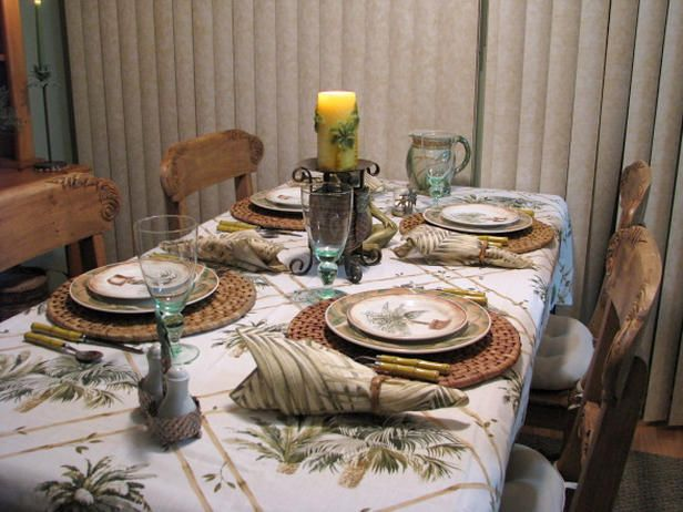Patterned Tablecloths