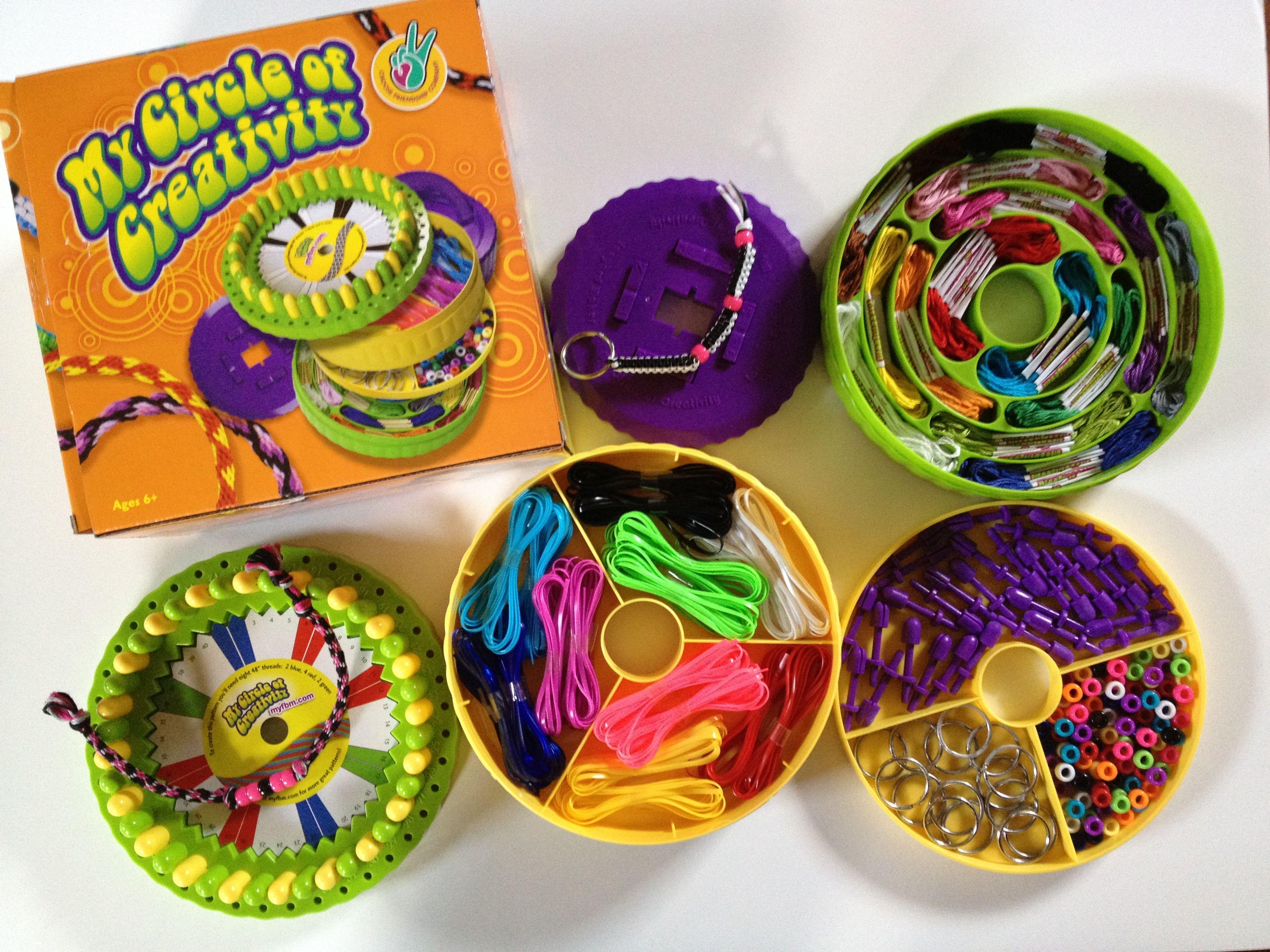 My Circle Of Creativity Available Exclusively To Qvc July 21st  Gimp Braceletslanyard Braceletfriendship
