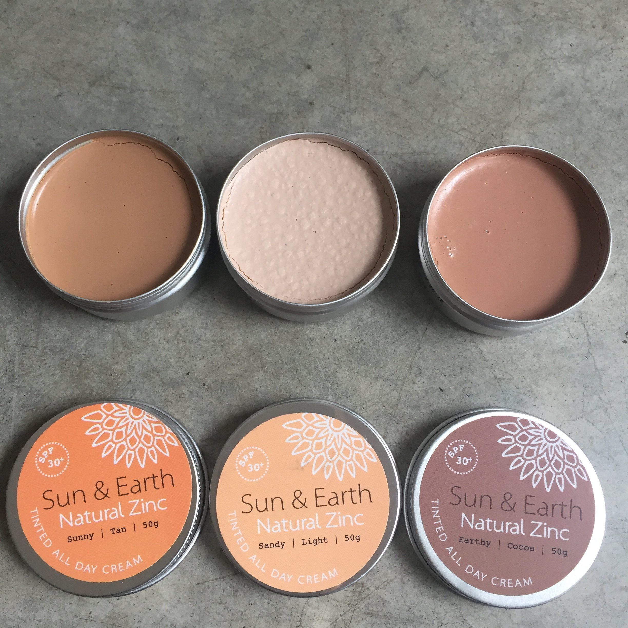 Natural Zinc by Sun & Earth SPF 30 Natural Zinc made in