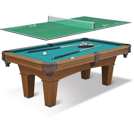 Eastpoint Sports 87 Sinclair Billiard Table With 3 Piece Table Tennis Top Billiard Pool Table Billiards Pool Pool Table