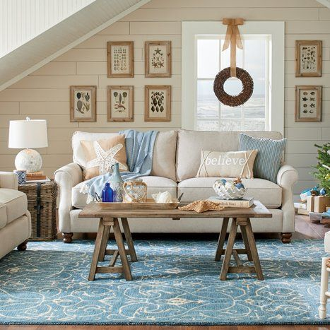 Coastal Living Room Design Eli Pinterest Coastal living rooms