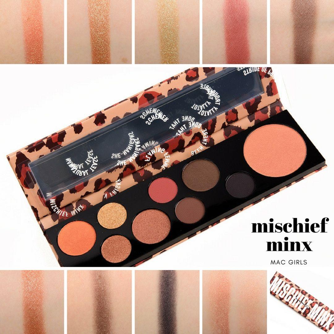 Sneak Peek MAC Mischief Minx Palette Photos & Swatches