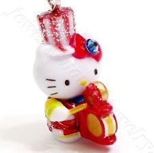 Hello Kitty Swarovski Elements Crystal Osaka Dotonbori Famous Icon Pendant Charm