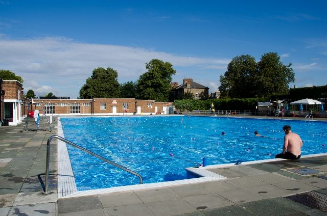 Grown-up Travel Guide Daily Photo: Brockwell Lido, London, England