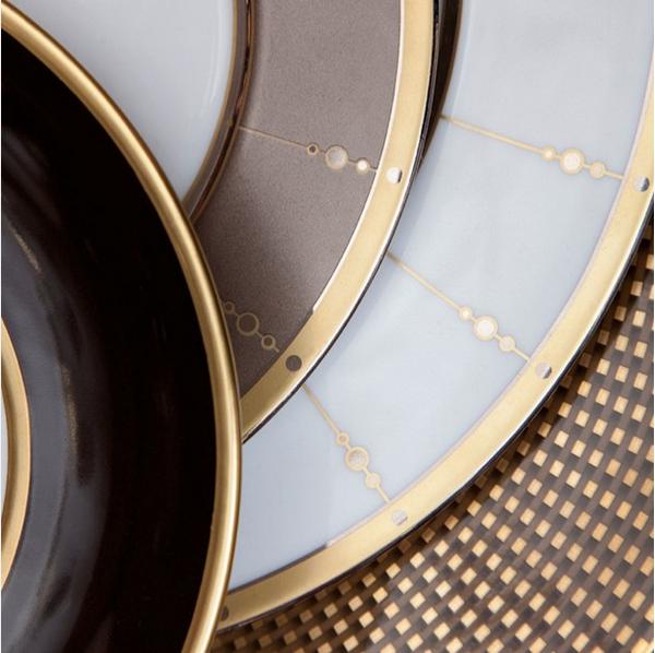 Harlequin London tableware: warm metallics of Raynaud and ...
