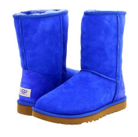Blue uggs, Ugg classic short, Boots