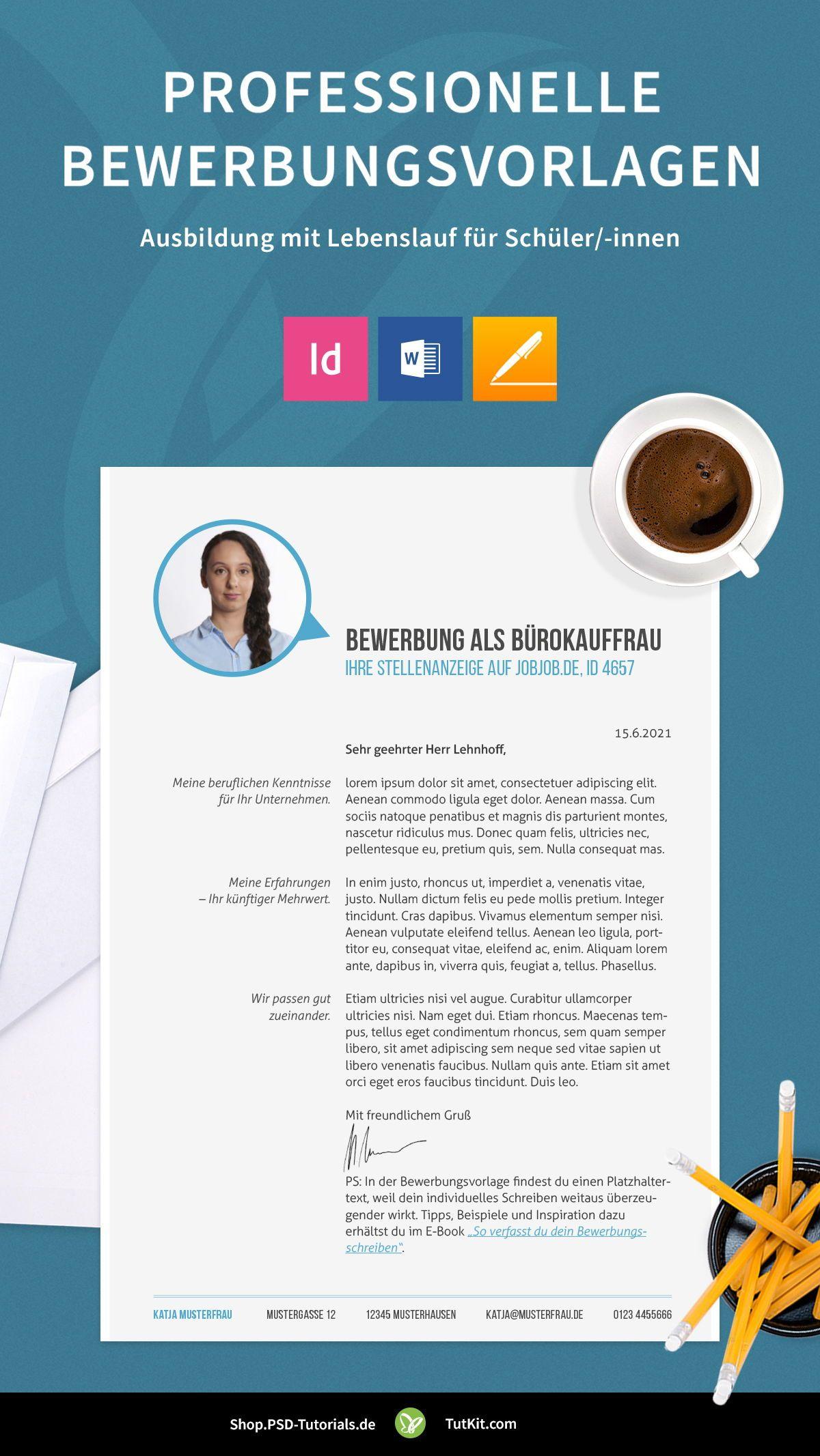 Pin auf Bewerbung & Lebenslauf: Vorlagen, Ideen und Tipps
