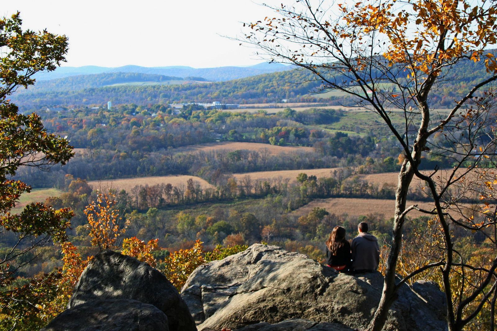 Point Mountain in Hunterdon County, New Jersey