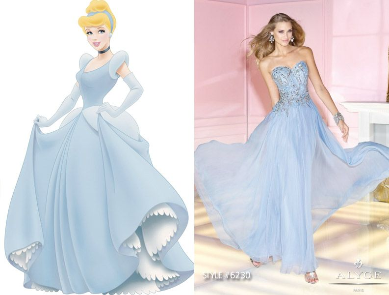 Disney Princess Inspired Prom Dresses