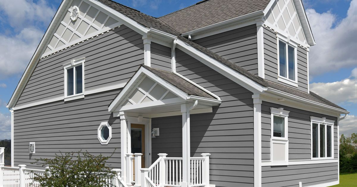 If You Re Considering Replacing The Siding On Your Home Check Out Our Guide To Siding Options Http Bit Ly 2s94o8z Siding Options House Siding Roof Siding
