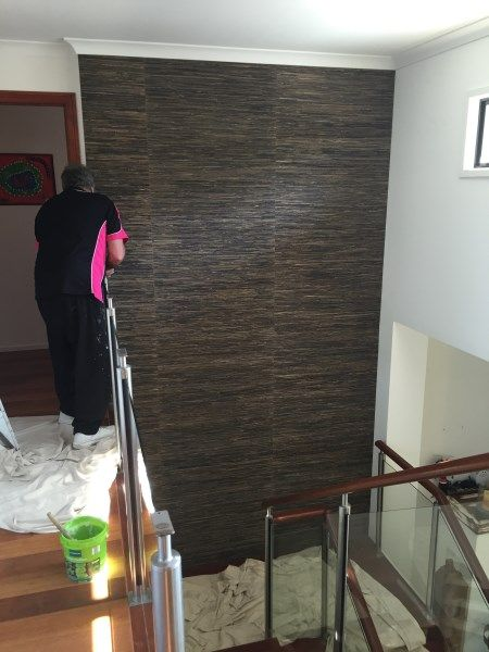 grasscloth wallpaper installation part 2 of 5