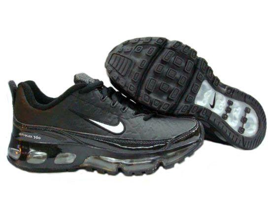 huge discount e8c15 6dc43 Danmark Billige Nike Air Max 360 Trainers Mænd - BlackWhite Logo