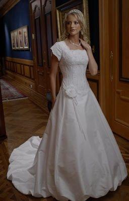 Sexy modest wedding dresses