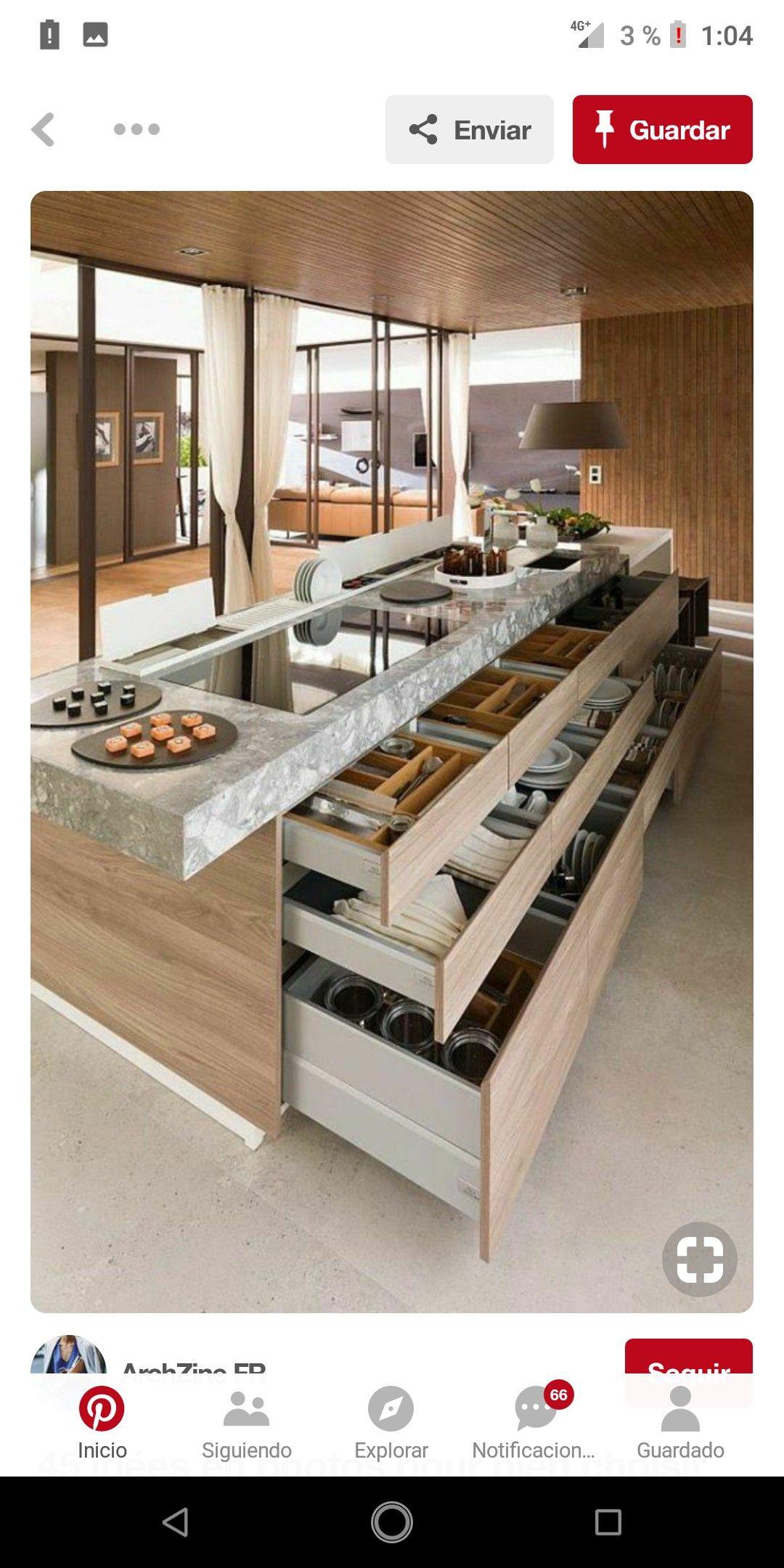 Cocinas modelos de muebles color de fachada pinterest for Modelos de cocina comedor