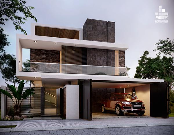 Casa residencial en colima colima residential for Casas residenciales minimalistas