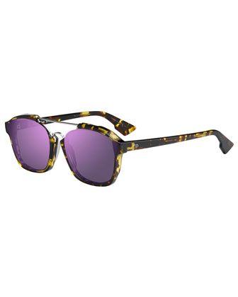 2845ec427b4 Square+Abstract+Havana+Sunglasses+by+Dior+at+Bergdorf+Goodman ...