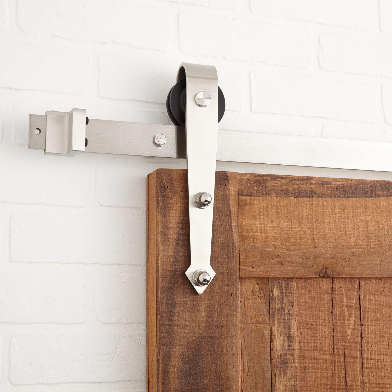 Anders Barn Door Hardware Black Barn Door And Gate Hardware Hardware Interiores Puertas