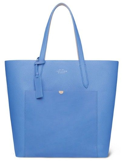 Smythson's Panama bag from their latest collection launching A/W 13/14  Love this bag