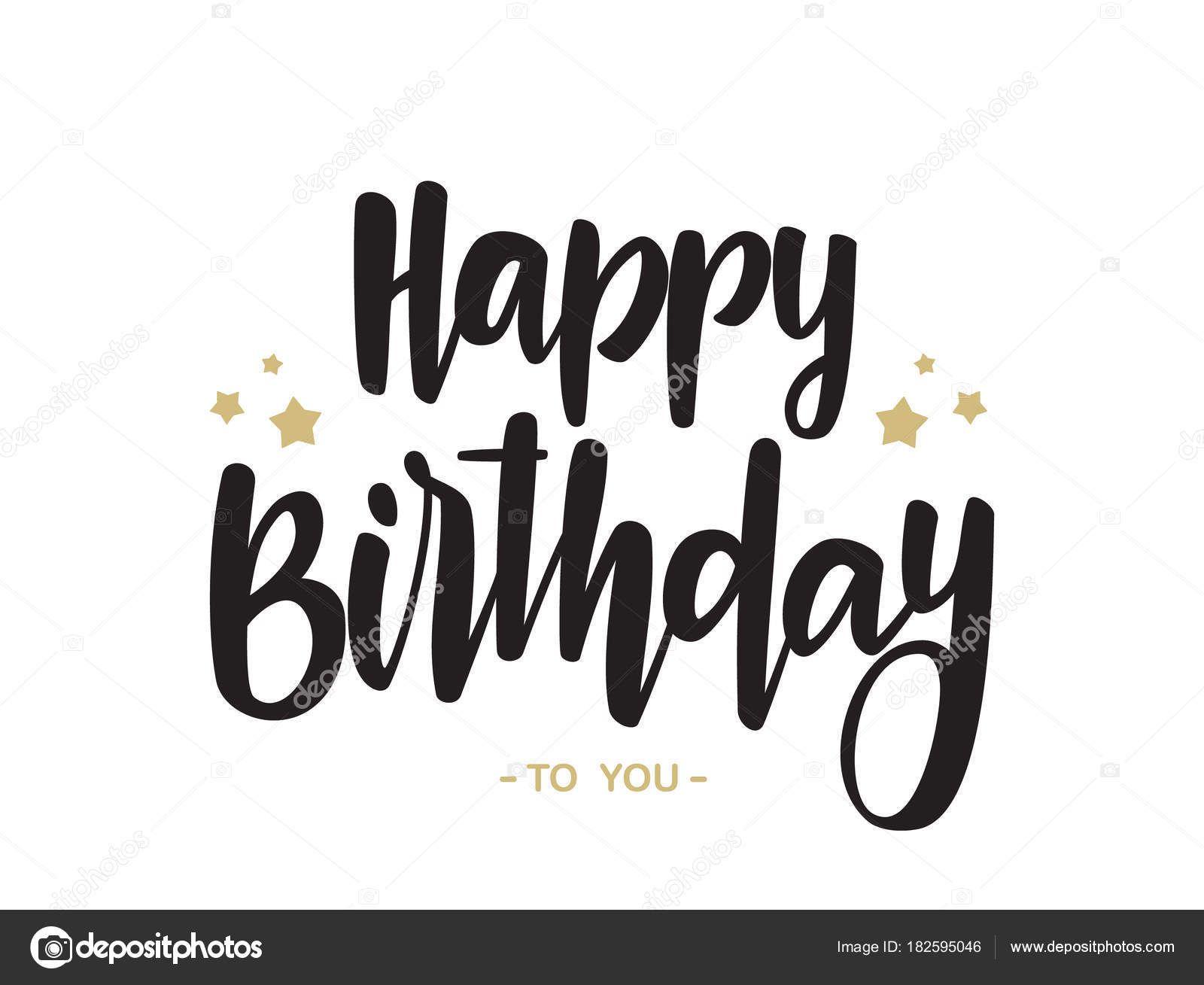 Pin By Jinx On Letras Bonitas Handwritten Type Happy Birthday Typography Lettering