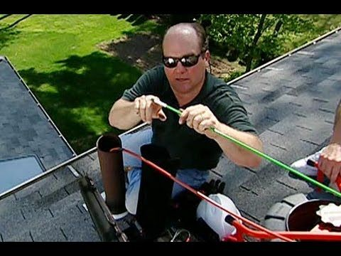 How To Clear A Clogged Plumbing Vent This Old House