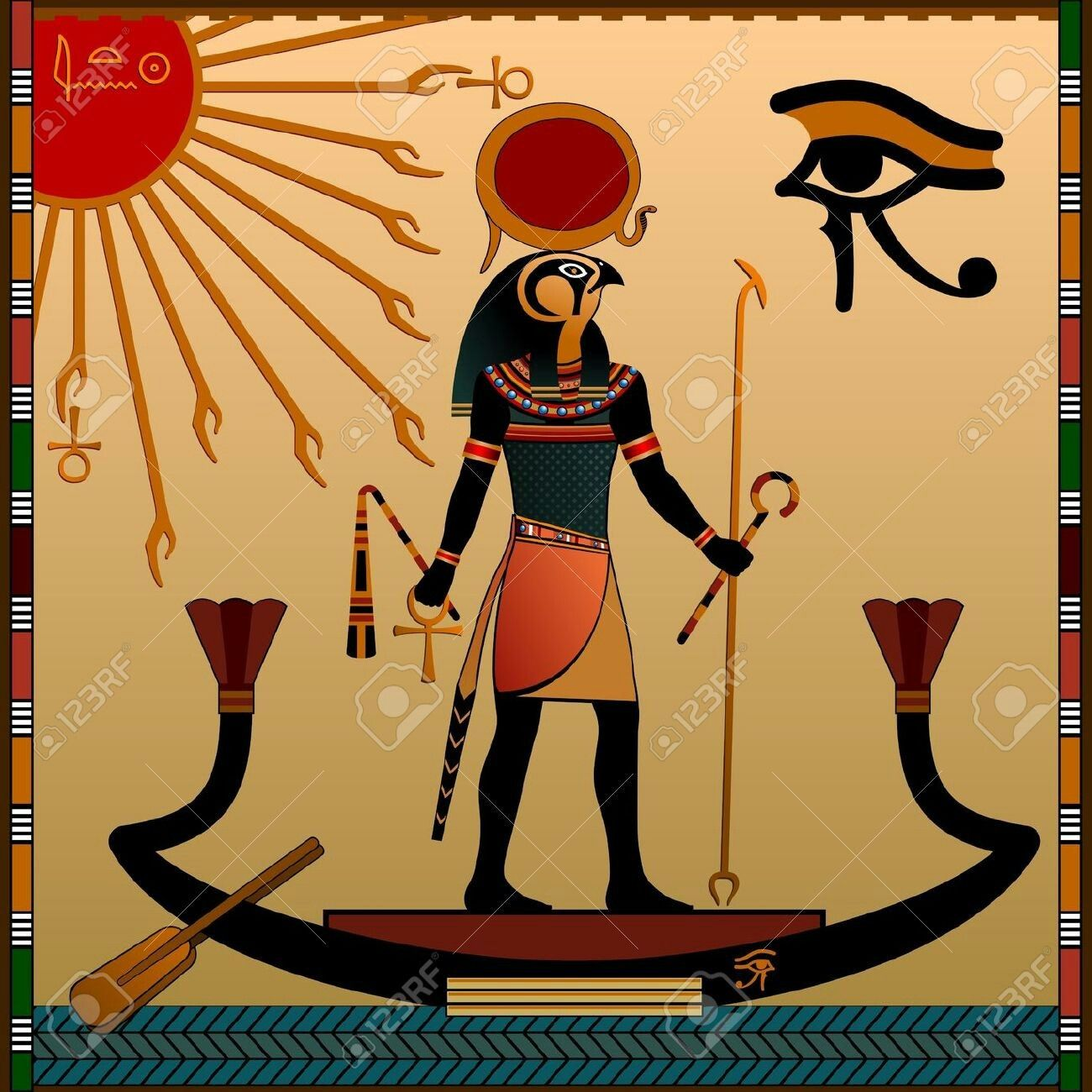 Pin by treza george on egypt pinterest egyptian ancient egypt religion of ancient egypt the gods of ancient egypt aten and ra ra in the solar bark buy this stock vector on shutterstock find other images biocorpaavc