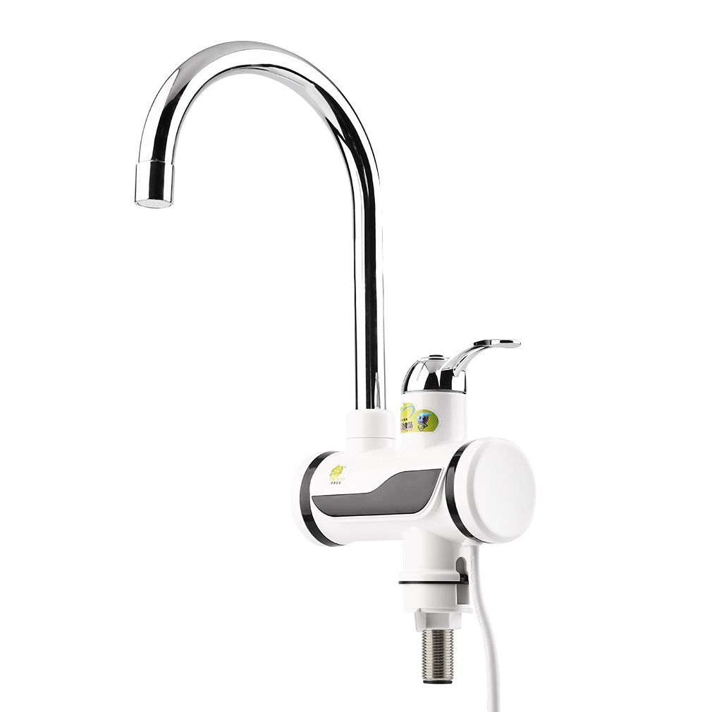 ABS LED Digital Display Instant Heating Electric Water Heater Faucet ...