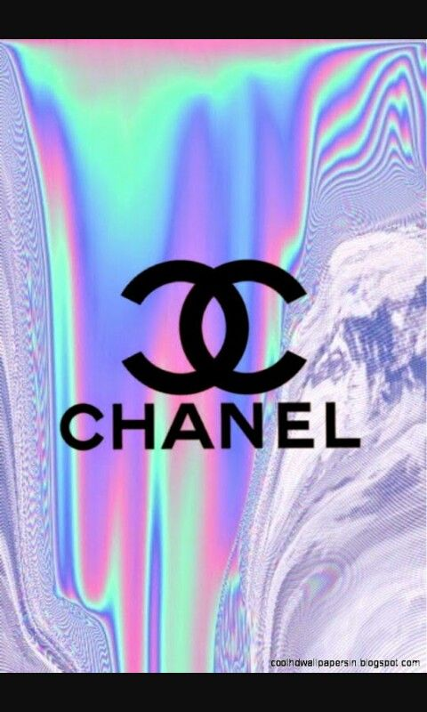 Chanel wallpaper   Wallpapers in 2019   Holographic