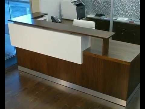 Reception Desk Ikea Youtube Ikea Reception Desk Modern