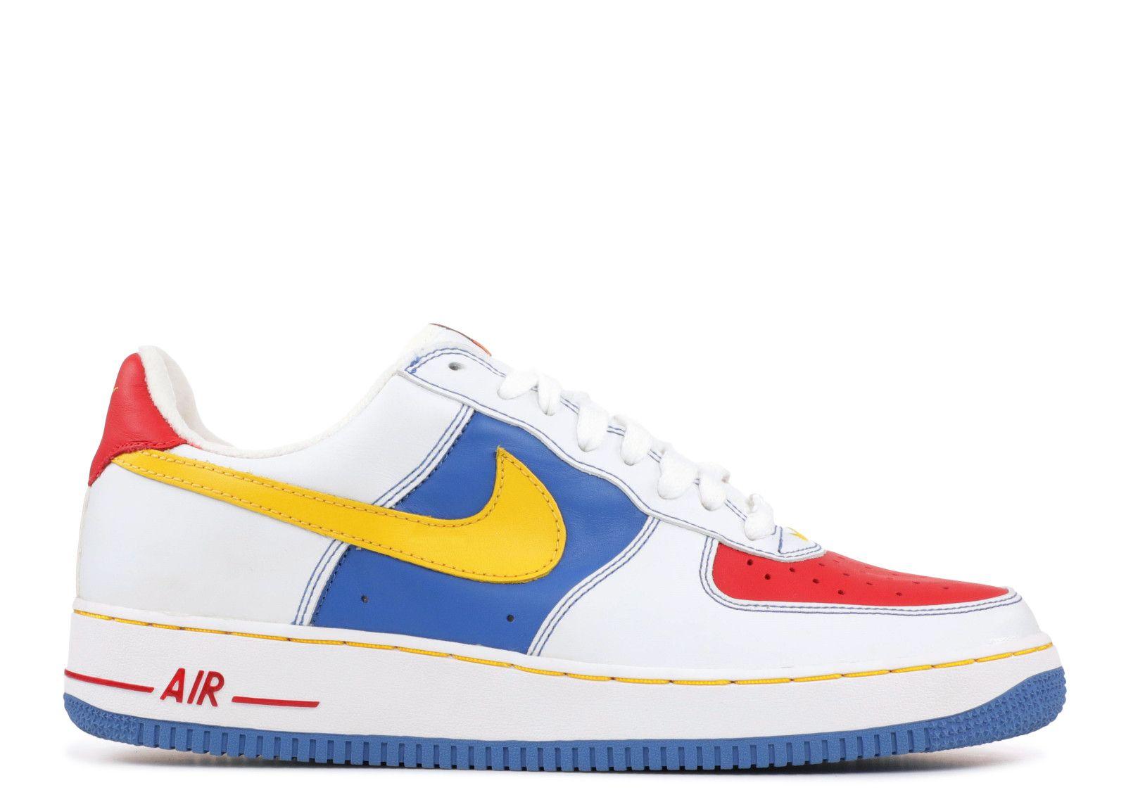 Original Nike Air Force One Low Men's Blue Beige Sale Online