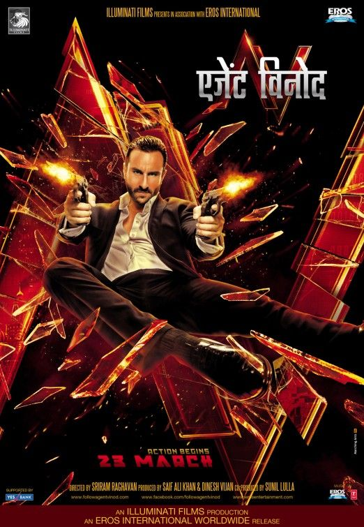 Click To View Extra Large Poster Image For Agent Vinod Movie Songs Songs Bollywood Posters