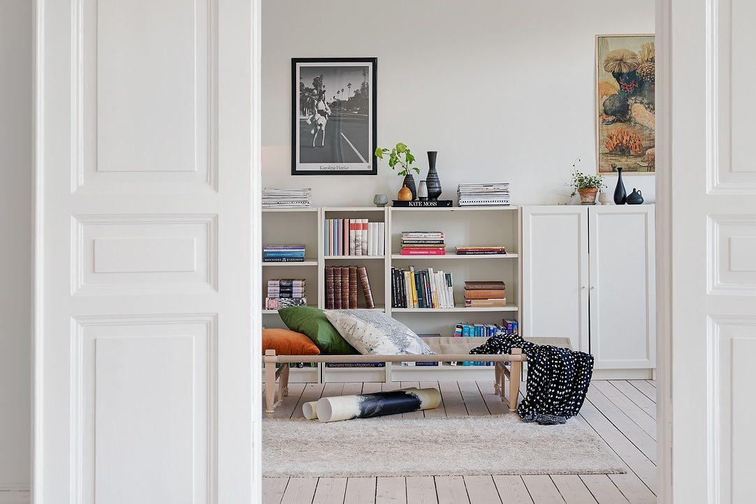 vardagsrum bokhylla
