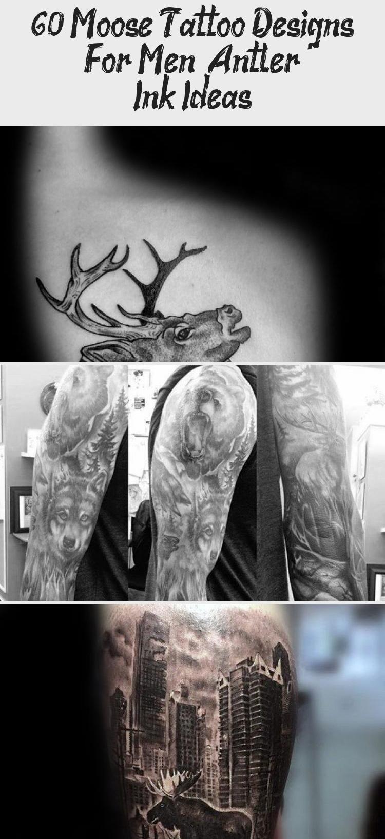 Photo of Small Moose Black Ink Tattoos für Männer auf … – #Black #Ink #men #Moose #Small #Ta …