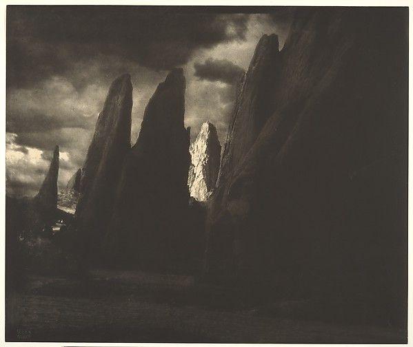 Storm in the Garden of the Gods--Colorado