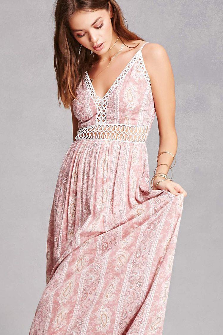 Soieblu paisley print maxi dress dream closet i can never afford