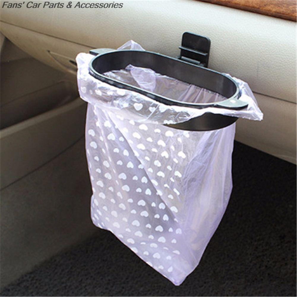 Car Styling Trash Bag Holder 40Pcs Organizer Garbage Rack Hanger