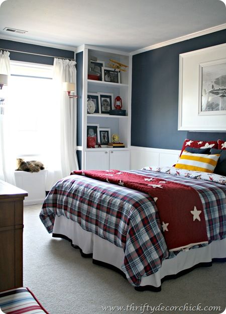 Cool Bedroom Ideas 12 Boy Rooms Thrifty decor chick Thrifty