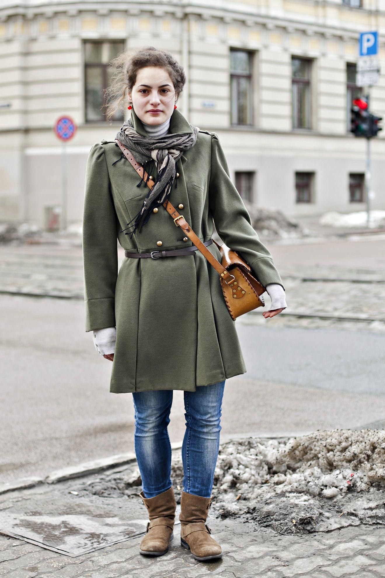 Fashion in the streets of Riga. Stasija.