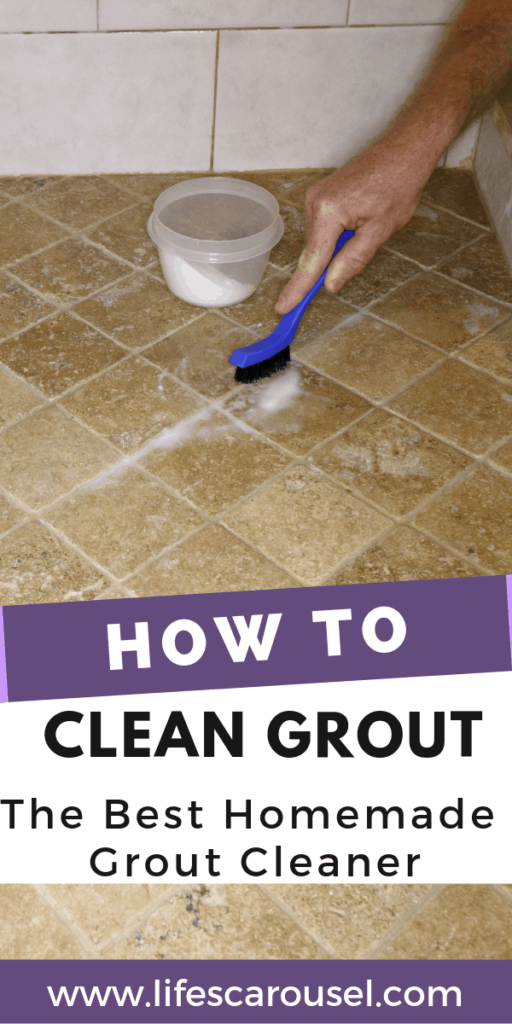 How to Clean Grout - The Best Homemade Grout Clean