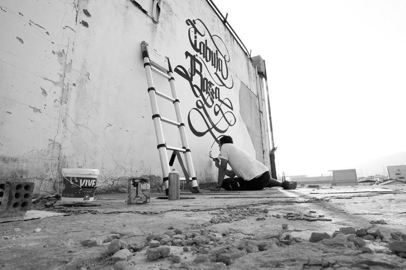 TABULA RASSA   Urban Calligraphy / Simon Silaidis