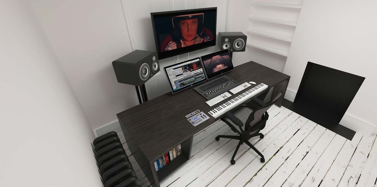 Mobilier Home Studio Aka Design Recording Studio Furniture For Mixing Composing And