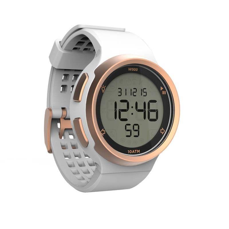 5da61ec7d409 Reloj Cronómetro Running Kalenji W900 Negro Pantalla Reverse ...