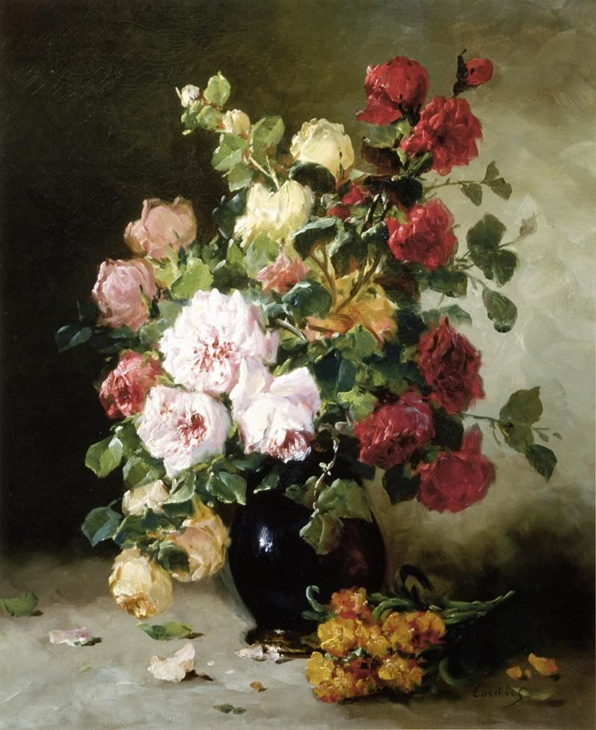 35 Paintings Of Flowers By Famous Artists Paintings