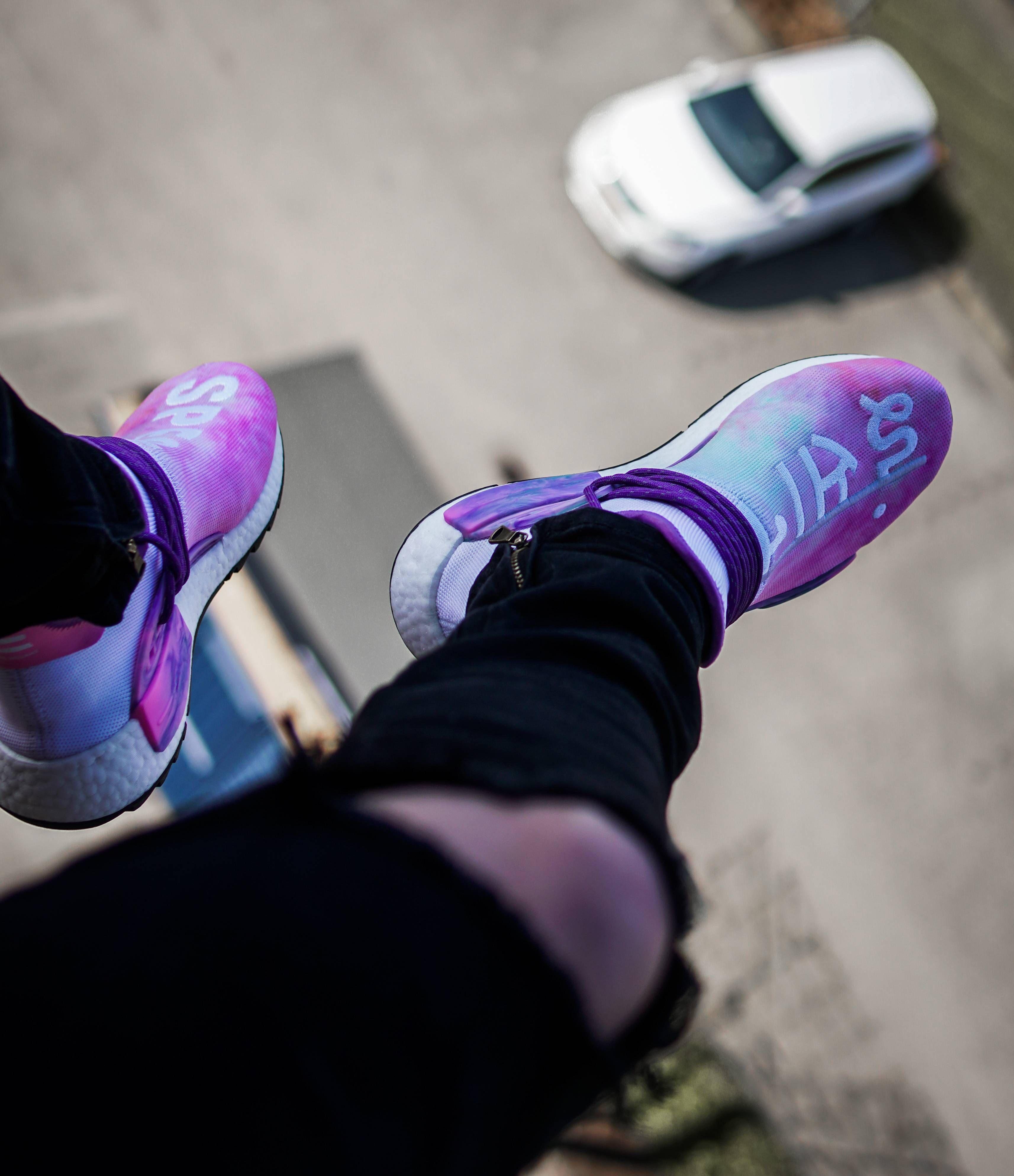6043521beb16e Pharrell X Adidas NMD Hu Trail Holi Pink Glow