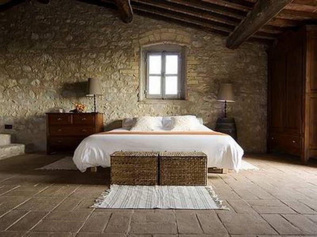 64 elegant rustic italian bedroom decorating ideas - Rustic country bedroom decorating ideas ...