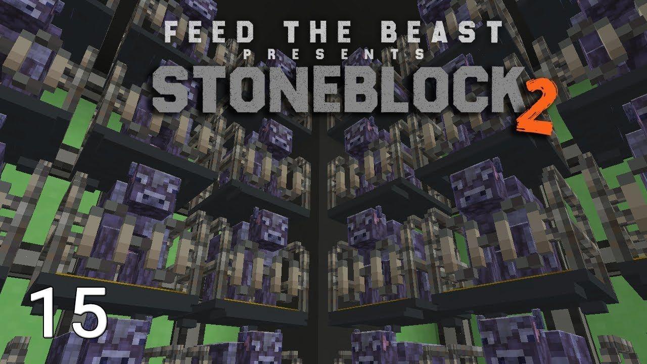 Stoneblock 2 Infinity Cow EMC Farm Pack Final