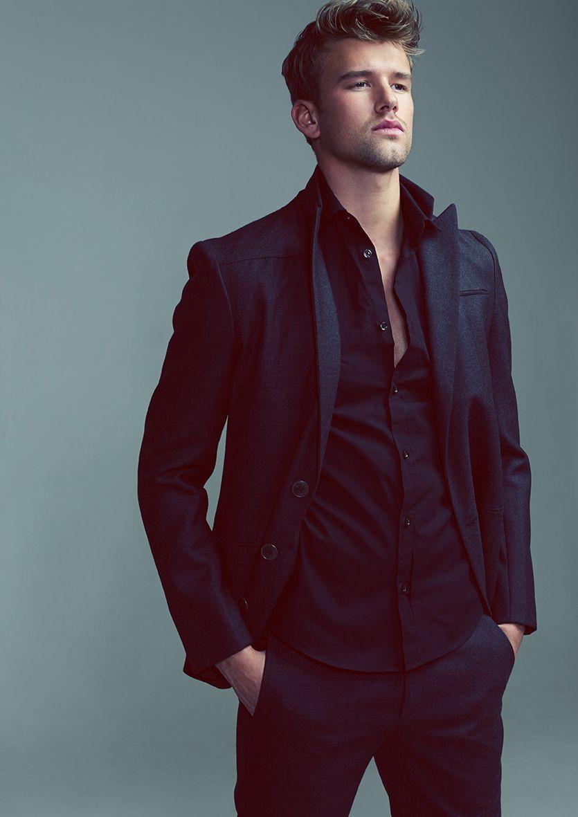 Men's Style Black on Black