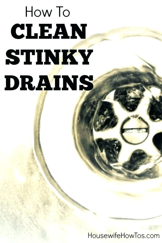 Odor In Bathroom Sink Drain Smells Large Size Of Kitchen Bad