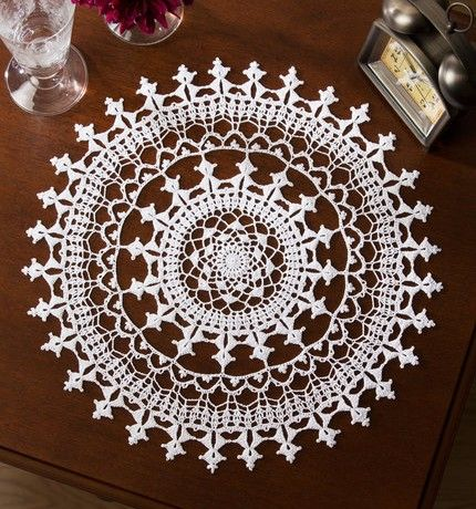 Affinity Doily free crochet pattern                                                                                                                                                                                 More